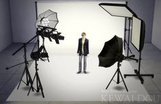 This Set has been brought to you by Kewai-Dou! Photo studio set for The Sims 4. I made studio set MOD which for take a good screenshot of your sim in the sims 4. The back screen has white, black, green and blue. Green and blue are for chroma key. Those lighting color have set …