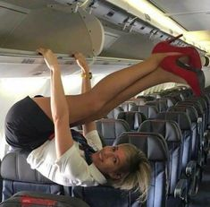 Is Your Marketing Working? Flight Attendant Hot, Flight Girls, Pantyhose Outfits, Pantyhose Heels, Nylons, Sexy Legs And Heels, Girls Uniforms, Great Legs, Rock Outfits
