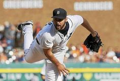 Detroit Tigers starting pitcher Michael Fulmer throws during the seventh inning of a baseball game against the Tampa Bay Rays, Saturday, May 21, 2016, in Detroit.