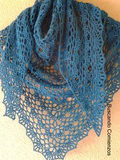 #haken, Gratis Haakpatroon Zomer Sjaal, , met doorklik naar tutorial = de Japones shawl van Ravelry, #crochet, free pattern, wrap, shawl, angora, mohair