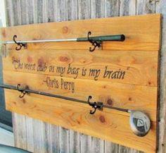 Golf Club Display Customizable Quote By Gypsydaydreamers