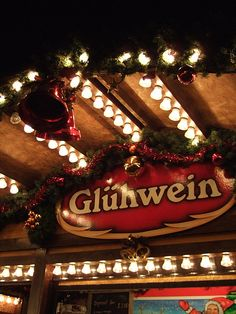 Enjoy Gluhwein at the Christmas Markets by pinkie girl, via Flickr