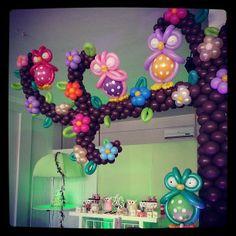 by Balloon-Giovy Decoracion Con Globos