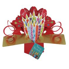 Wonderful Pic make a wish Birthday Candles Concepts Don't forget celebrations? Varied colouring balloons, a fairly easy linen pastry, streamers along Fun Fold Cards, 3d Cards, Folded Cards, Pop Up Greeting Cards, Pop Up Cards, Happy Birthday Candles, Happy Birthday Images, Make A Wish, Creative Gifts