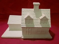 Cape Cod 2 Story Country Village Home House by HandcraftedCeramics