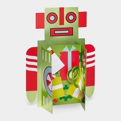 Holiday Robot Holiday Card   MoMAstore.org