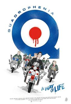 You searched for Quadrophenia - PosterSpy Retro Scooter, Lambretta Scooter, Scooter Girl, Vespa Gtv, Vespa Scooters, Mod Music, Df Mexico, Northern Soul, Mod Fashion