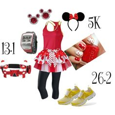 """Minnie Run Disney"" by disneydreams on Polyvore"