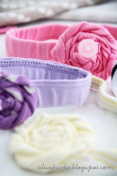 DIY Baby head bands