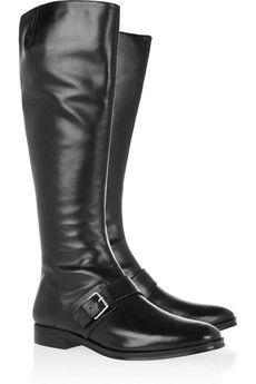 KENZO | Leather riding boots  | NET-A-PORTER.COM