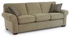 Vail Fabric Three-Cushion Sofa by #Flexsteel via Flexsteel.com