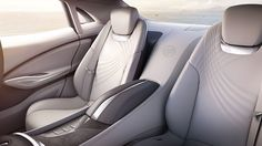 The luxurious interior of the Buick Avenir concept vehicle is designed to rejuvenate with comfort, connectivity, and colors that reward the senses.