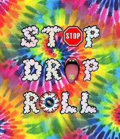 ☮ American Hippie Quotes ~ Stop Drop Roll