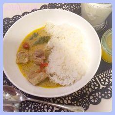 ♡green curry&hyuganatsu agar jelly