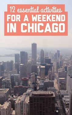 12 essential activities for a weekend in Chicago | Things to Do in Chicago San Francisco Skyline, Basketball Jersey, Baseball, Shirt