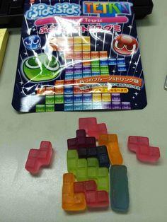 insolite bonbon tetris