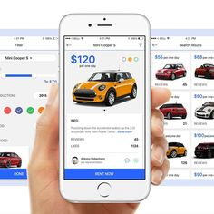 21 Best Car Rental App Inspiration Images On Pinterest Design Web