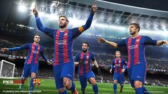 Some PES fans would have complained about orientation spots on kicks and penalties, which was totally removed on Pro Evolution Soccer 2018 game. Pro Evolution Soccer, Neymar Jr, Uefa Champions League, Lionel Messi, Cardiff, France National Football Team, Liverpool, Fc Barcelona Players, Fifa 20