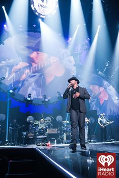Zac Brown Band onstage at the iHeartRadio Music Festival! #iHeartRadio