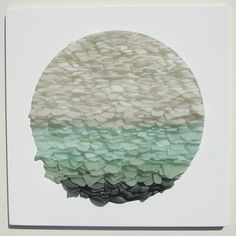 Jonathan Fuller - Sea Glass. This is a great idea for something to do with my sea glass collection!