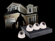 Family Safe HD CCTV Surveillance System DVR CCTV Indoor.Night Vision