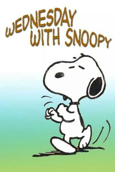 Wednesday with Snoopy