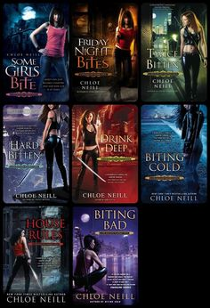 Chicagoland Vampires by Chloe Neill http://www.fantasticfiction.co.uk/n/chloe-neill/