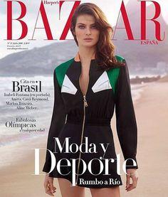 Isabeli Fontana for Harper's Bazaar Spain July 2016 | Art8amby's Blog