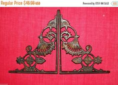 You are buying 2 pair (4 pieces) of this lovely Vintage Look, Victorian design…