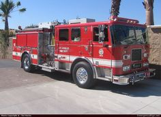 Seagrave Marauder II Pumper Los Angeles Fire Department Emergency Apparatus Fire Truck Photo