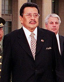 January 17, 2001 – Impeachment proceedings against Philippine President Joseph Estrada, accused of playing Jueteng, end preeminently and trigger the second EDSA People Power Revolution or People Power II.