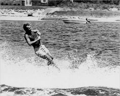 Bobby Kennedy water skiing