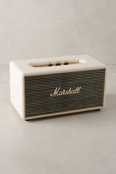 Marshall Stanmore Bluetooth Wireless Speaker - anthropologie.com #anthroregistry