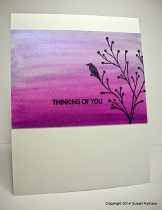 Simplicity: Shimmery Background and a Question for You twinkerling and PB Card Making Inspiration, Making Ideas, Crafts To Do, Paper Crafts, Watercolor Beginner, Penny Black Stamps, Watercolor Cards, Watercolour, Paint Cards