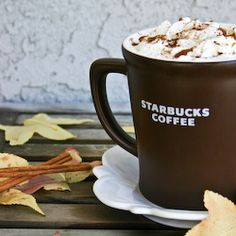 How to make pumpkin spice lattes at home.