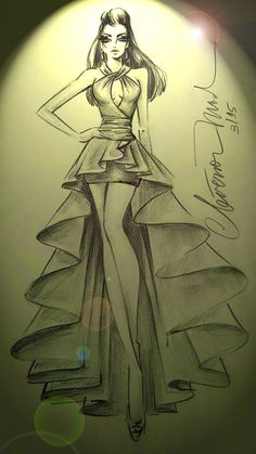 Dress Design Drawing, Dress Design Sketches, Fashion Design Drawings, Fashion Drawing Dresses, Fashion Illustration Dresses, Fashion Figure Drawing, Fashion Model Sketch, Fashion Sketches, Fashion Sketchbook