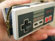 What should we do with outdated technology? How about recycle it in to something else? Take this classic Nes controller. It's now a retro sheek purse. Some times even technology is iconic. Find a new value in it