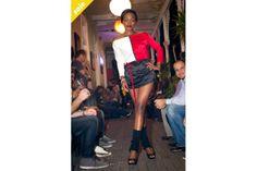Ivona Kleinova Three Colour Top by Ivona Kleinova Leather Skirt, Colour, Elegant, Skirts, Tops, Design, Fashion, Classy, Moda