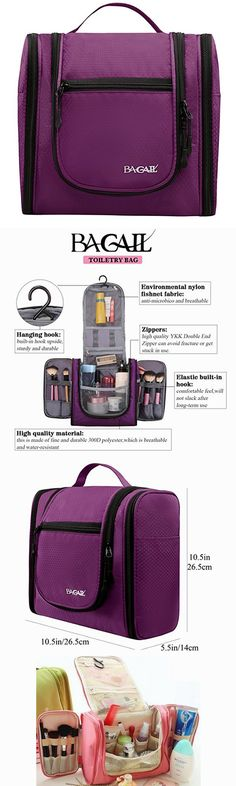 b597a155470a Bagail Large Men   Women Toiletry Bag For Makeup