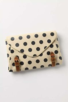 Anthropologie - Polka Rounds Clutch