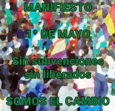 SOMOS sindicalistas: SOMOS sindicalistas ante el primero de Mayo