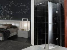 CrystalTech Chrome Frameless Square Hinge Shower Enclosure - - 985 x 985 x Mosaic Tiles, Wall Tiles, Tile Panels, Outdoor Tiles, Shower Enclosure, Decorative Tile, Porcelain Tile, Tile Floor, Chrome
