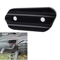 Black CNC Aluminum Motorcycle Chain Inspection Cover For Harley Sportster XL883 XL1200  XL 883 1200 2004-2017 #MBG262 #Affiliate