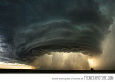 Just a thunderstorm in Montana. . .