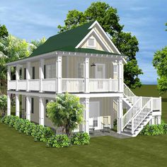 "1050 Meeting Street (Slab) has that ""Charleston"" look!  Works as a cottage or an accessory to an existing unit."