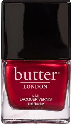 Knee Up Nail Lacquer by butter London - Metallic Red Nail Polish