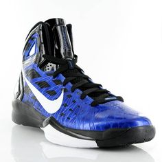 blue and black hyperdunks