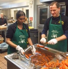 The @communityhealthplanwashington Claims Support team volunteered their time at OPERATION: Sack Lunch on Monday. They used their volunteer hours to prepare and serve food for the homeless in downtown Seattle. Homelessness has been declared an emergency siuation in the city of Seattle and CHPW wants to do our part to help! #operationsacklunch #homeless #seattle