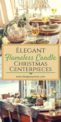 ideas diy table centerpieces for home flameless candles