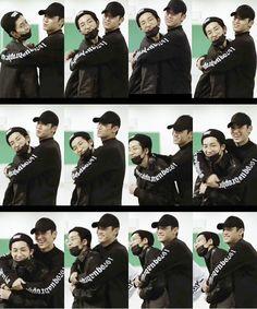"""No hyung, you're not going anywhere"" - Mingyu"